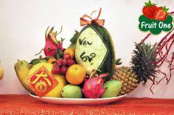 Cách trang trí giỏ quà Tết trái cây giữa hai miền Nam Bắc